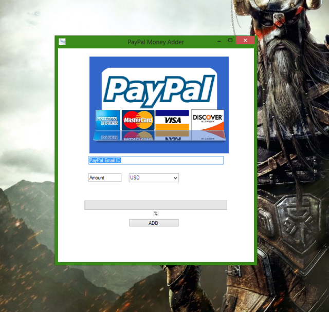 PayPal Money Adder Photo Proof 1